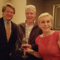David and Melanie with Ted Seghesio at Eleven Madison Park