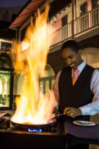 New Orleans is Cooking again!- Bananas Foster at Brennan's