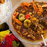 Seafood and Okra Stew www.pierrethiam.com