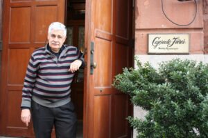 Jacques Capsouto in front of Capsouto Freres (photo: David Ransom)