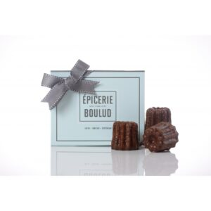 Melanie cannot resist these Caneles, a specialty of Bordeaux