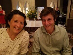 Silvie Courselle and Adrien-David Beaulieu