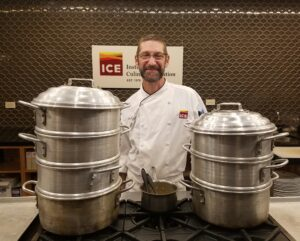 David Waltuck is now Director of Culinary Programs for Institute of Culinary Education (ICE)