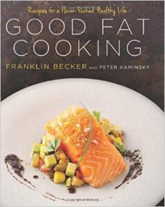 This book has a recipe for the best salmon dish ever! See photo on the cover.