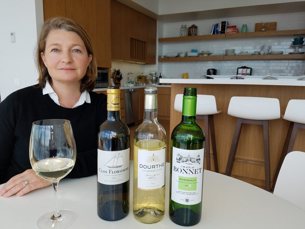 Dr. Valérie Lavigne is a specialist on aroma and the aging potential of white wines.