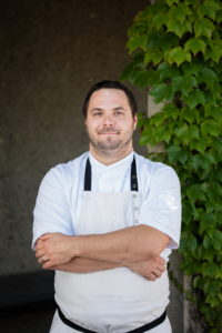 Chef Carl Shelton, J Vineyards & Winer