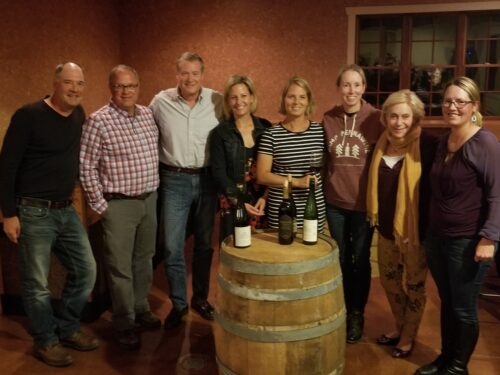 Gathering with the Lehigh Valley Vintners