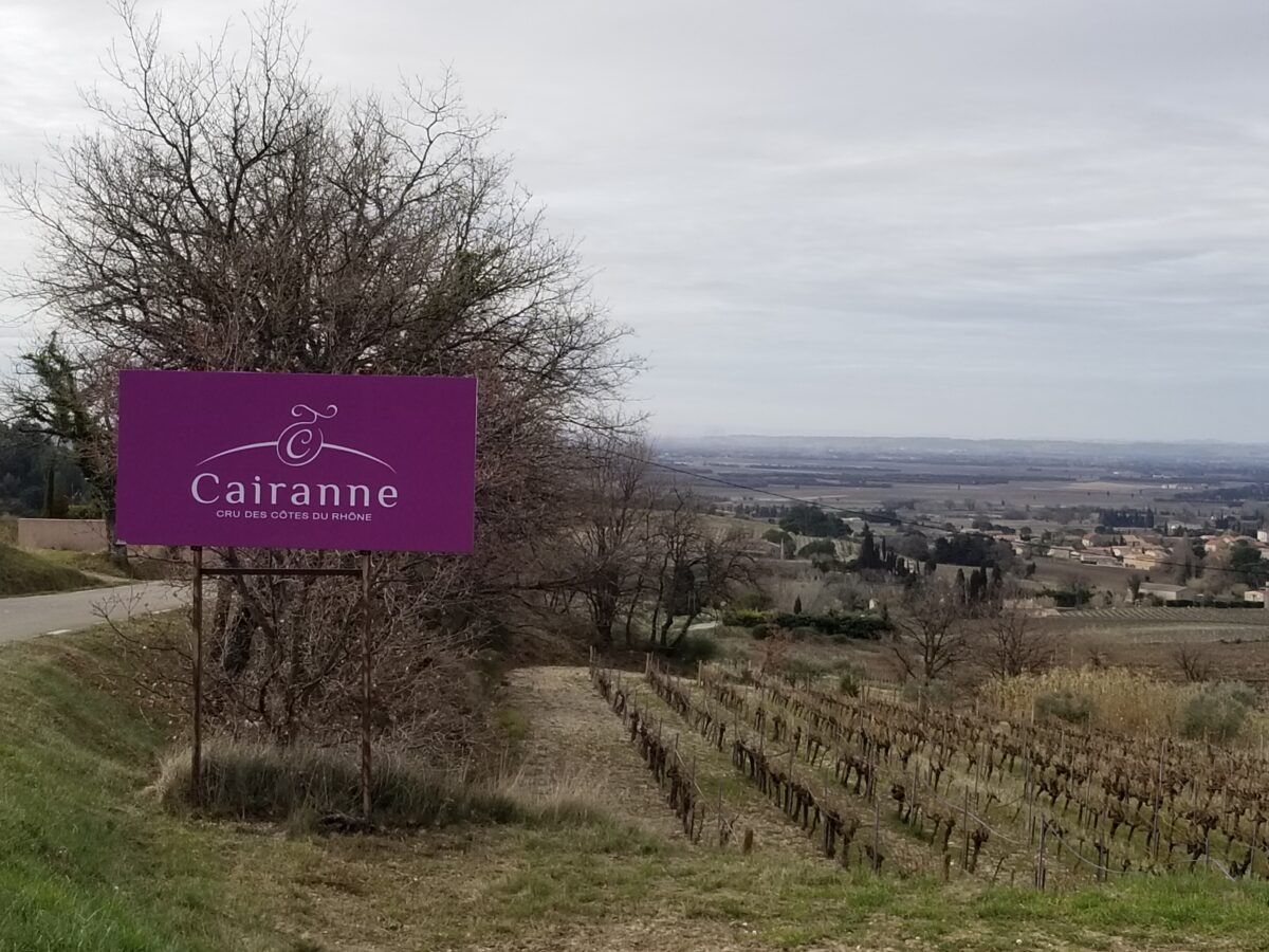 Cairanne vineyards