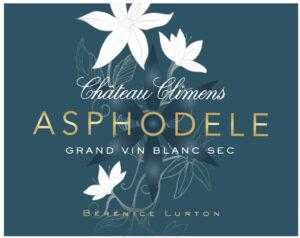 Bérénice Lurton, Château Climens, Introduces Asphodèle