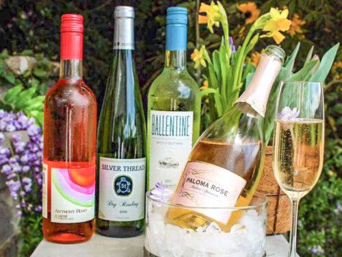 Vegan Wines roses and whites