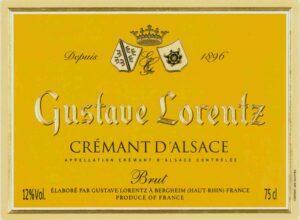 Gustave Lorentz Cremant d'Alsace