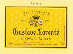 Gustave Lorentz Pinot Gris (importer: Quintessential Wines)