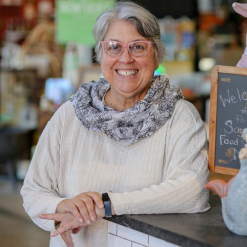Elizabeth Williams, President of the National Food & Beverage Foundation