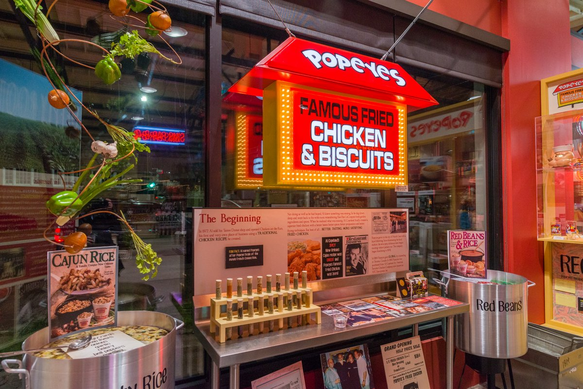 Learn the history of New Orleans' famous Popeye's fried chicken and its dynamic founder, Al Copeland.