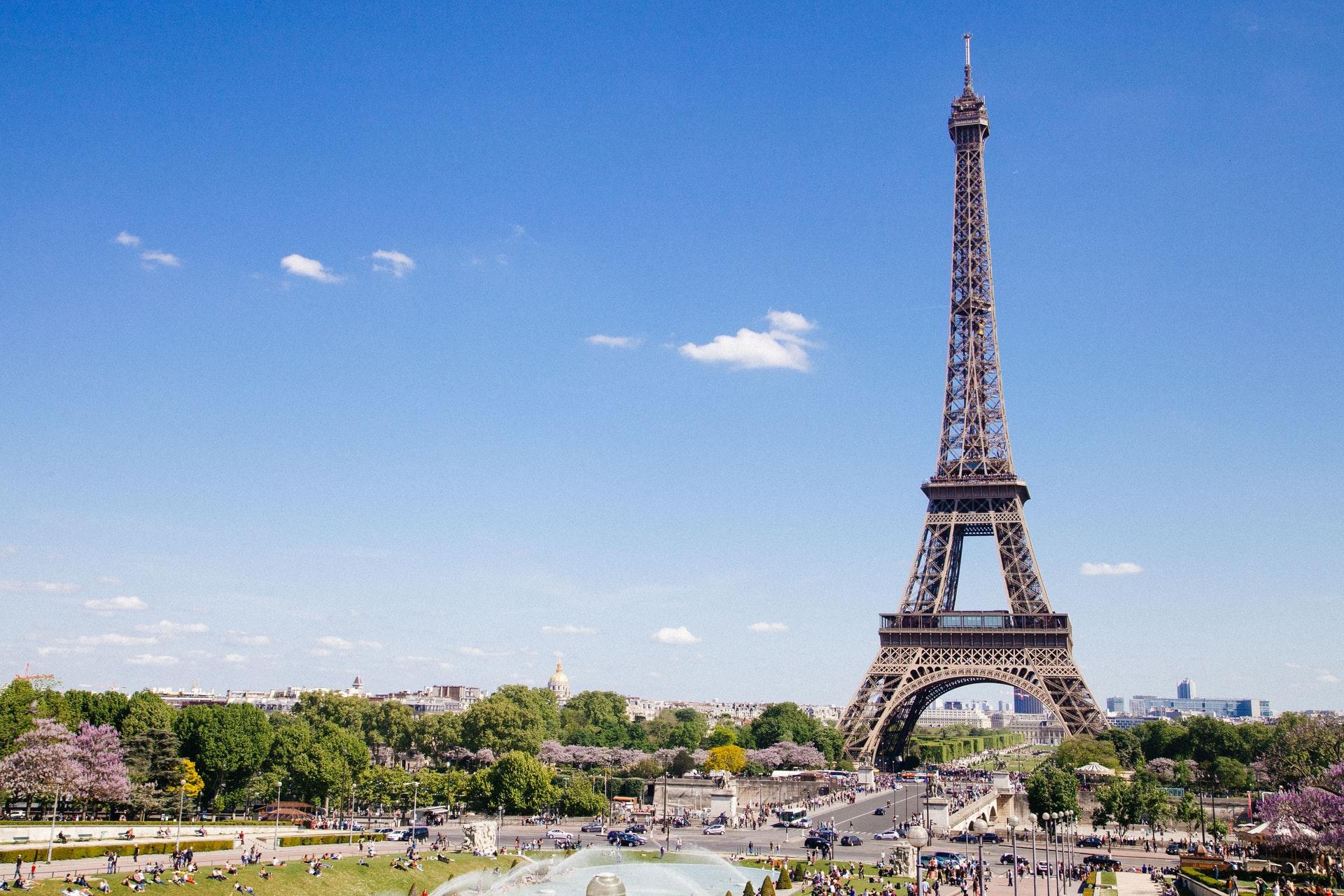 Paris Eiffel Tower - anthony-delanoix-QAwciFlS1g4-unsplash